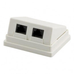 Wall Socket, Surface UTP,...