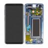 Samsung Galaxy S9 Display Incl. frame Original - Polaris Blue