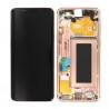 Samsung Galaxy S9 Display Incl. frame Original - Gold