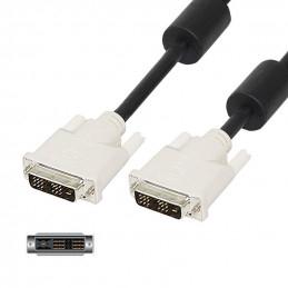 DVI-D - DVI-D Single Link Kabel Ha-Ha - 1.5m