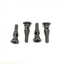 Rubber screws (black) for...