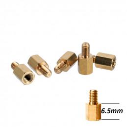 Distans 6.5mm till Chassi för Moderkort - 9 Pack