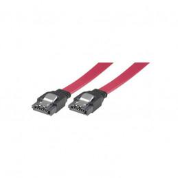 SATA III-Kabel Rak-Rak Kontakt med lås, 50cm 1st