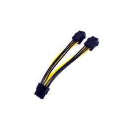 Adapterkabel 2x6-pin...