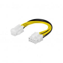 Deltaco Adapterkabel 4-pin...