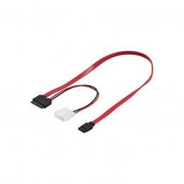 Deltaco Slimline SATA-Kabel...