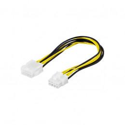 Adapterkabel, Förlängningskabel 8-pin ATX-12V ha-ho, 25cm