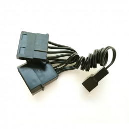 Fan Adapter Molex 4-pin -...
