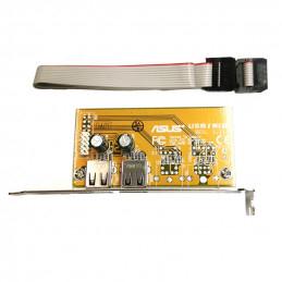 Asus USB/MIR 2-portar Expansionskort med Kabel till Moderkort, C100G6-A01