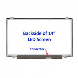 """LCD-Skärm för Bärbar 14.0"""" 1366x768 Matt LED"""