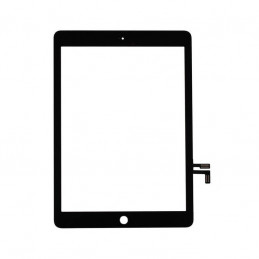 Glas iPad Air (Gen1) - 2017 (iPad5) Digitizer - Utan Hemknapp - Svart