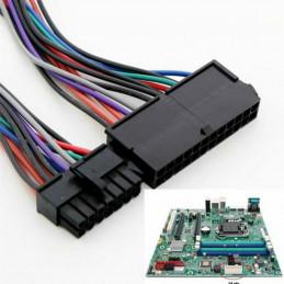 24 Pin till 14 Pin PSU Nätdel ATX Adapter Kabel för Lenovo, IBM