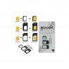 Noosy SIM Card Adapter 4 in 1, Nano to Micro Standard Converter