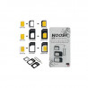 Noosy SIM-Kortadapter 4 i 1, Nano till Standard