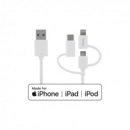 Deltaco USB-C / Micro USB /...