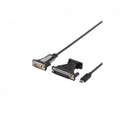 Deltaco USB-C till Seriell...