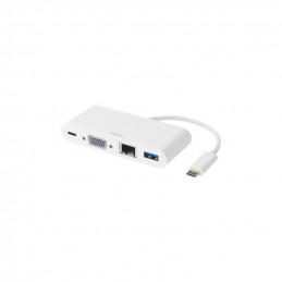 Deltaco USB-C Docking...
