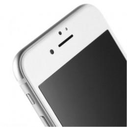 Skärmskydd - iPhone 6 Plus - 6S Plus Härdat Glas 99D Heltäckande Över Kanterna - Vit