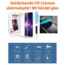 Skärmskydd Samsung Galaxy S9 Plus UV-Limmat, Härdat Glas