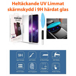 Tempered Glass UV-Glue to Samsung Galaxy S9 Plus