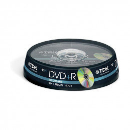 TDK DVD +R 16x 10,Pieces,...