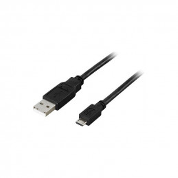 Deltaco USB 2.0 Cable, 2m,...