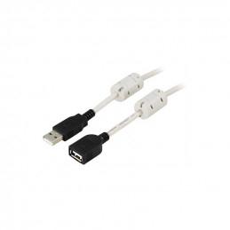 Deltaco USB 2.0 Kabel Typ A...