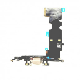 iPhone 8 Plus - Laddkontakt Flexkabel - Svart