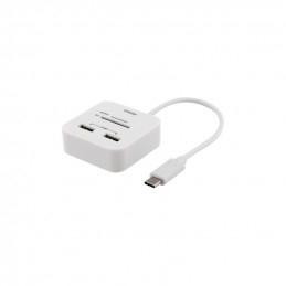 Deltaco USB-C SD-Kortläsare...