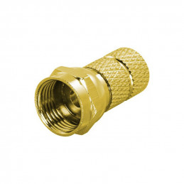 Deltaco F-Connector, Male,...
