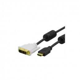 Deltaco HDMI to DVI Cable,...
