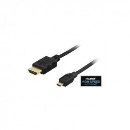 Deltaco HDMI Kabel, 1m,...