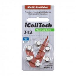 iCellTech 312 PR41 Zinc-Air...