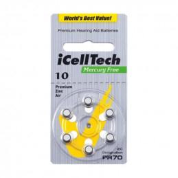 iCellTech 10 PR70 Zinc-Air...