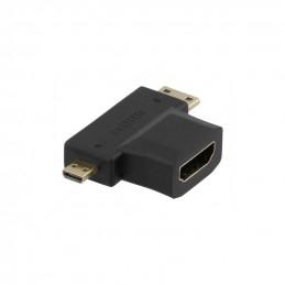 Deltaco HDMI-Adapter, HDMI...