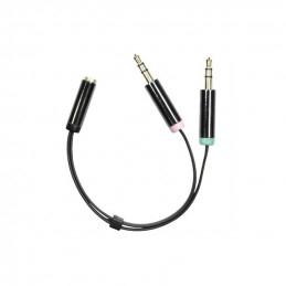 Deltaco Audio Adapter,...