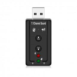 USB-Ljudkort, Anslutning...