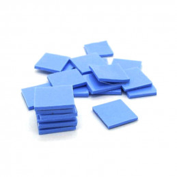 Thermal Pad 6pcs 10mm x 10mm x 1mm, Heatsink Cooling Conductive Silicone Pad