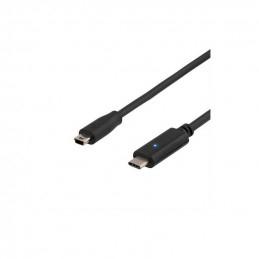 Deltaco USB 2.0 Kabel, 2m,...