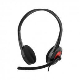 Deltaco Stereo Headset,...
