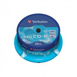 Verbatim CD-R AZO Crystal,...