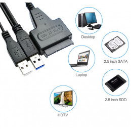 HDD SATA-Adapter for USB...